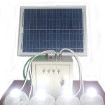 Solar cell unit 4 lampu 20 WP_4