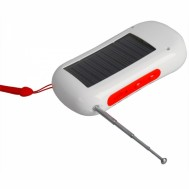 FM Radio, Senter, Charger 3 in 1 Solar Power  – AL 1006