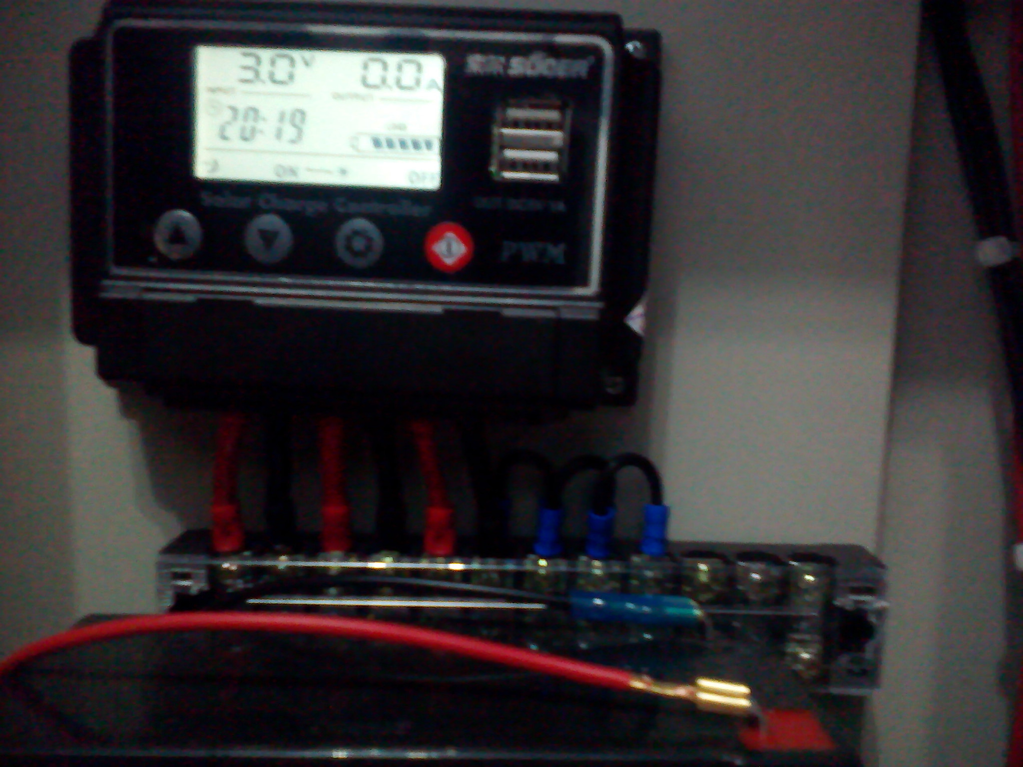 Solar Charge Controller 20a Digital Suoer Panel Surya