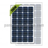 Panel Surya 200 WP Greentek Monocrystalline