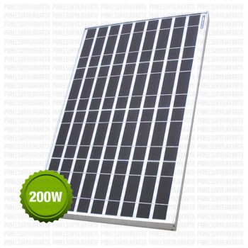 Panel Surya 200 WP Polycrystalline Luminous