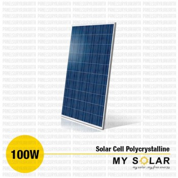 Jual Solar Cell 100 WP Polycrystalline
