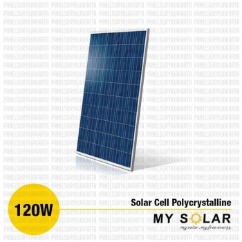 Jual Solar Cell 120 WP Polycrystalline