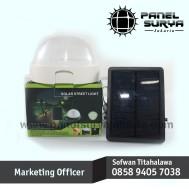 Lampu Dinding Multi Fungsi Q2-232 Tenaga Surya 5 LED Premium LD 1002