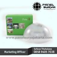 Lampu Dinding Tenaga Surya Sensor Gerak PIR ( Passive Infra Red ) 6 LED Super Terang