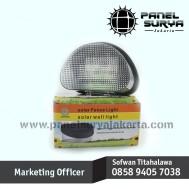 Lampu Dinding / Tangga Tenaga Surya 8 LED