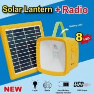 Solar Lantern + Radio/ Solar Powerpack 2.0
