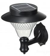 Lampu Dinding Tenaga Surya Model Klasik 8 LED 80 Lumen – LD 1008