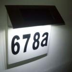 LD 1014_1 - Lampu nomor rumah solar power