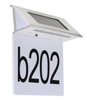 Lampu Nomor Rumah Tenaga Surya 4 LED – LD 1014