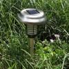Lampu Taman Panel Surya Tancap Setrum Nyamuk Stainless 48 cm – LT 1003
