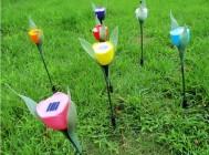 Lampu Taman Tancap Model Tulip – 80 cm – LT 1004
