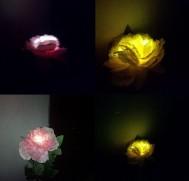 Lampu Taman Tancap Model Bunga Mawar 1 LED – 80 cm – LT 1008