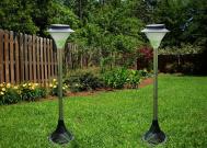 Lampu Taman Panel Surya Tancap  20 LED – 81 cm – LT 1010