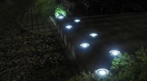 LT 1013_2 - Lampu Taman Model Tanam Bulat 3 LED - 12 cm