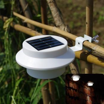 Lampu Taman Pagar Model Jepit 3 LED – 6,3 cm – LT 1016
