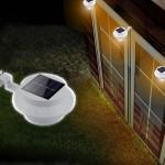 LT 1016_5 - Lampu Pagar Model Jepit 3 LED - 6,3 cm