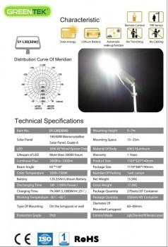 PJU Tenaga Surya All In One 30 watt   30w   30watt