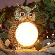 Lampu Taman Tenaga Surya Model Burung Hantu – LT 1042