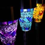 Lampu Taman Tancap Mosaic, Lampu Taman Tenaga Surya, Lampu Taman Minimalis, LT 1028_10