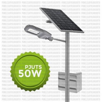 PJU Tenaga Surya 50 Watt   PJU Solar Cell 50 Watt