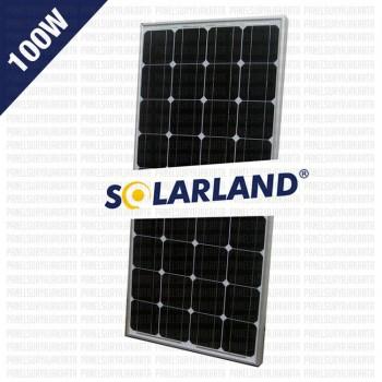 Panel Surya 100WP Monocrystalline Solarland