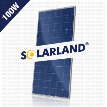 Panel Surya 100WP Polycrystalline Solarland