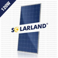 Panel Surya 120WP Polycrystalline Solarland