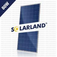 Panel Surya 80WP Polycrystalline Solarland