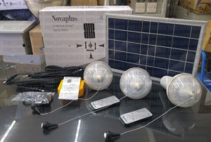 Sehen, LTSHE, Solar cell 3 lampu