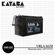 Baterai VRLA Kayaba 12V 100Ah