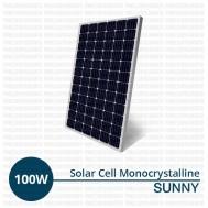 Jual Panel Surya 100 Wp Monocrystalline