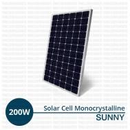 Jual Panel Surya 200 Wp Monocrystalline