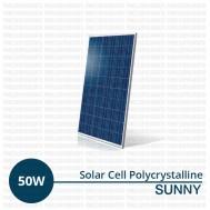 Jual Panel Surya 50 WP Polycrystalline