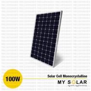 Jual Solar Cell 100 Wp Monocrystalline
