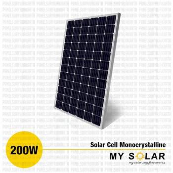Jual Solar Cell 200 Wp Monocrystalline