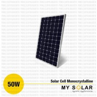Jual Solar Cell 50 Wp Monocrystalline