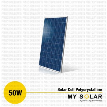 Jual Solar Cell 50 WP Polycrystalline