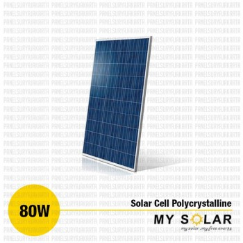 Jual Solar Cell 80 WP Polycrystalline