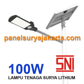 PJU Two In One 100 watt SNI Lithium | PJU Solar Cell 2 in 1 100 watt