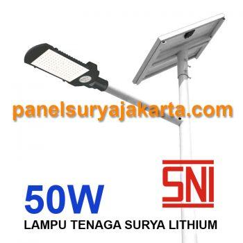 PJU Two In One 50 watt SNI Lithium | PJU Solar Cell 2 in 1 50 watt